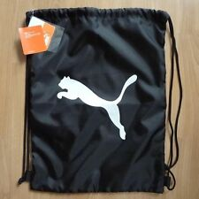 PUMA Gymnastics Gear Bag Gym Sports Tote Drawstring Pack Nylon Sling