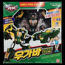 Hello Carbot UGABA CAPTAIN Green Gorilla Transformer Transforming Robot Car Toy