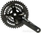 Suntour XCR MTB Triple Chainring Chainset Crankset Bicycle Bike 9sp 22/32/44T Bk