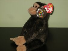 ty BEANIE BABY WEAVER the MONKEY Brookfield Zoo TAG Exclusive BABY BEANIE MWMT