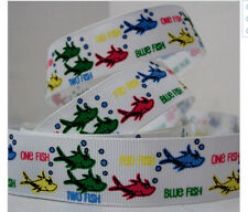 Dr Suess One Fish Two Fish Red Fish Blue Fish Ribbon