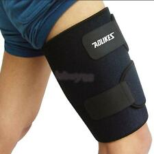 THIGH SLEEVE LEG COMPRESSION HAMSTRING GROIN SUPPORT BRACE WRAP BANDAGE USEFUL