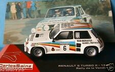 RENAULT 5 TURBO 2 #6 RALLY DE LA VENDIMIA 1983 COLLECTION SAINZ IXO ALTAYA 1/43