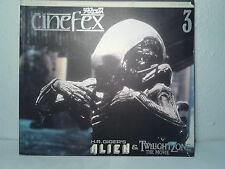 cinefex magazine  #3 1984  H.R.Giger's Alien & Twilight Zone the Movie  Japanese