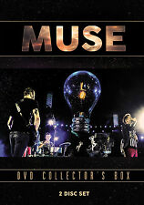 MUSE New Sealed 2016 COMPLETE HISTORY, BIOGRAPHY & MORE 2 DVD BOXSET