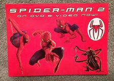 Spider-Man 2 The Movie Collectible Promotional Stickers New FREE SHIP