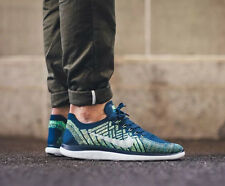NIKE FREE 4.0 FLYKNIT Running Trainers Shoes - UK 10 (EU 45) RRP £120 Brave Blue