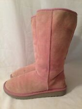 UGG Australia 5815 Tall Classic Pink W9 Winter Boots Women's 9 Shoes