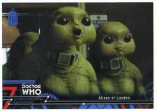 2016 Topps Doctor Who Exraterrestrial Encounters Blue /99 #71 Aliens of London