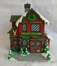 Vintage Department 56 Hide A Way Hollow The Ski Shop Christmas Decoration
