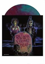 THE RETURN OF THE LIVING DEAD - BLUE WITH BLOOD RED HAZE VINYL LP - 635 MADE