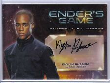 Khylin Rhambo as Dink Meeker 2014 Cryptozoic Ender's Game Autograph Auto #A11
