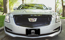 2015 2016 CADILLAC CADY ATS 1PC ALL BLACK HEAVY MESH GRILLE GRILL E&G