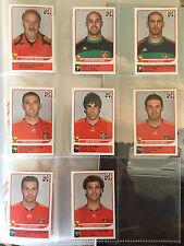 WC PANINI 2010 8 Updates + Extra SPAIN stickers very difficult- NO ALBUM