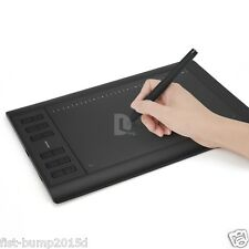 "Huion 1060 Pro+ 10"" x 6.25"" Drawing Graphics Tablet Board + Digital Pen US stock"