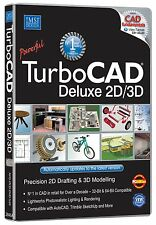 Avanquest TurboCAD Deluxe 2D/3D: Precision 2D Drafting & 3D Modelling (PC)