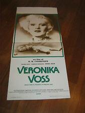 LOCANDINA VERONIKA VOSS R.W.FASSBINDER HILMAR THATE