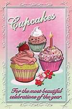 Placa de chapa - CUPCAKES - PARA EL MOST BEAUTIFUL CELEBRACIONES 20x30 cm 23072