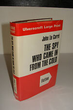 The Spy Who Came in from the Cold by John Le Carre Ulverscroft Hardcover 1st LP