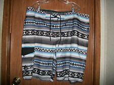NWT AMERICAN EAGLE MULTI-COLORED BOARD SHORTS/TRUNKS  Size XXL Retails $38.00