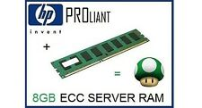 HP 8GB Dual Rank x4 PC3-10600 (DDR3-1333) Registered CAS-9 Memory Kit 500662-B21