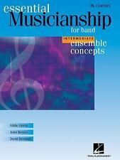 Ensemble Concepts for Band - Intermediate Level: Clarinet by Green, Eddie, Benz