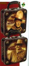 JOHN WAYNE The DUKE Hollywood Star Legend TIN TOTE SNACK HOBBY TOOL LUNCH BOX