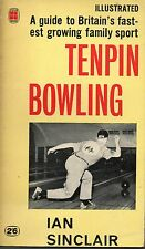 IAN SINCLAIR TENPIN BOWLING FOUR SQUARE ILLUSTRATED PAPERBACK FIRST ED 1962