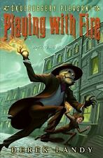 Skulduggery Pleasant: Playing with Fire 2 by Derek Landy (2008, Hardcover) NEW