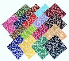 """17 10"""" Beautiful """"Royalty"""" Swirl Quilting Fabric Layer Cake Squares  !! NEW ITEM"""