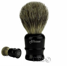 CHRISTENSEN SHAVING BRUSH 100% PURE BADGER ANTIQUE VTG TYPE STRAIGHT RAZOR OYNX