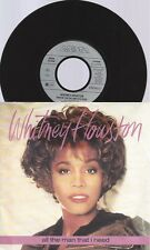 "7"" WHITNEY HOUSTON -ALL THE MAN THAT I NEED"