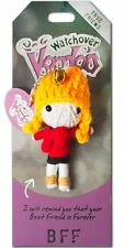 "Watchover VOODOO DOLL Keychain, BFF, True Friend, Best Friends Forever, 3"" Tall"