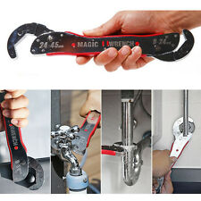 Multi Purpose Functional Spanner Tools Universal Magic Adjustable Wrench 9-45mm