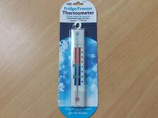 Fridge/Freezer Thermometer, Vertical, Colour Coded, Free Post!