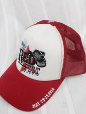 New $25 Natty Light Red Fest Austin Texas Trucker Hat Cap Snapback Beer Hipster