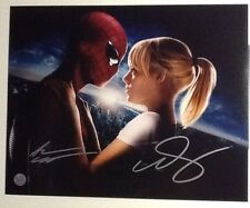 Andrew Garfield & Emma Stone in The Amazing Spider-Man Signed Photograph w/ COA