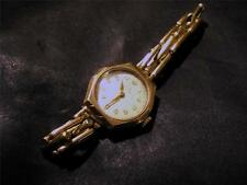 LOVELY vintage in oro 9 carati RECORD WATCH & Oro 9 Carati Cinturino, lon1956