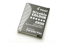Pilot Parallel Calligraphy Pen Refill - 6 pack  Black ink cartridges in box