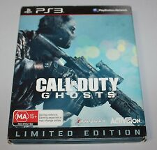 CoD - CALL OF DUTY GHOSTS Limited Edition - AUS PAL - SONY PS3 Game !!