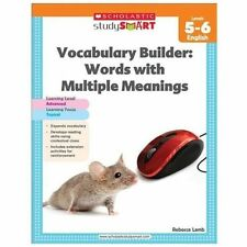 Scholastic Study Smart: Scholastic Study Smart Vocabulary Builder: Words with...