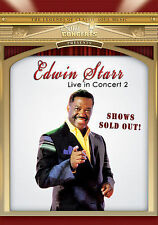 Edwin Starr DVD 2007 Soul Concerts Live UK & Germany Music In Concert 2 R & B