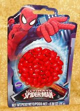 Spider-man Sprinkles,Candy Decorations. Cupcake Toppers,Edible,Wilton.710-4621