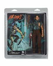 "EVIL DEAD 2 - HERO ASH - CLOTHED 8"" POSEABLE ACTION FIGURE DOLL RETRO NECA 2014"