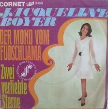 """7"""" 1968 VG++! JACQUELINE BOYER Der Mond vom Fudschijama"""