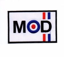 VESPA MOD scooter Embroidered Patch Iron Sew Logo Emblem Custom NEW MOTORCYCLE