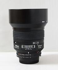 Nikon Nikkor 85mm F/1.4 D AF Lens + Filter ( 85.4D )