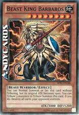 INGLESE Beast King Barbaros / Re Bestia ☻ Comune ☻ BP01 EN148 ☻ YUGIOH ANDYCARDS