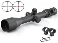 Visionking 6-25X56 Mil-dot Long Range Rifle scope 35 m .50 Cal 11 dovetail Rings