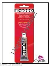 E6000 Glue Rhinestone Crystal Craft Jewelry Gem Multi Use Adhesive .5oz E-6000